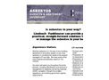Asbestos Surveys and Abatement Oversight Services