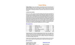 Copper Mining Application Brochure
