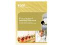 Acela - Model ESCO - Ducted Fume Hoods  Brochure