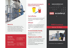 AMB Ecosteryl - Model 75+ - Medical Waste Disposal Equipment - Brochure