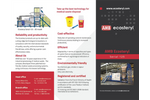 AMB Ecosteryl - Model 125 - Medical Waste Disposal Equipment Brochure