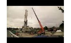 Deep Geothermal Casing Run at United Downs - Spring 19  - Video