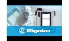 Rigaku ResQ CQL 1064 nm handheld Raman analyzer Video