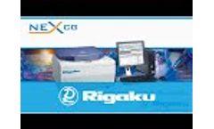 Rigaku`s NEX CG - elemental analysis by X-ray fluorescence Video