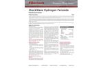 Fiberlock ShockWave - Model H202 - Hydrogen Peroxide Disinfectant - Datasheet
