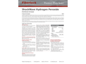 Fiberlock ShockWave - Model H202 8318-1-C4 - Hydrogen Peroxide Disinfectant