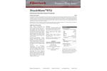 Fiberlock ShockWave - Model RTU 8316-1-C4 - Disinfectant/Sanitizer - Datasheet