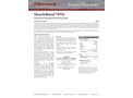 Fiberlock ShockWave - Model RTU 8316-1-C4 - Disinfectant/Sanitizer - Datasheet