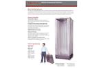 Fiberlock AfterShock - Model 6439-U - Klean-Pop Collapsible Decontamination Shower - Brochure
