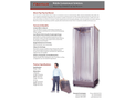 Fiberlock AfterShock - Model 6439-U - Klean-Pop Collapsible Decontamination Shower - Brochure
