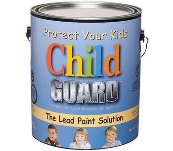 Fiberlock ChildGuard - Model 5600-1-C4 - Interior/Exterior Lead Encapsulant Coating - 1 Gal (4/Case)