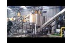 PET Bottles Recycling Line Video