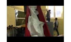CRT EXTRUDER DENSIFIER - LDPE FILM Video