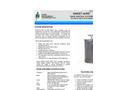 Sweet-Air - Model PE-500 MDPE - Drum Scrubber Unit - Brochure