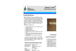 Sweet-Vent - Odor Control Filter System - Brochure