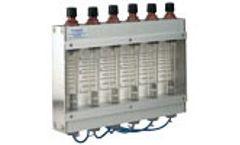 Kytola Instruments - Multi-Tube Variable Area Flow Meter Model VE-x