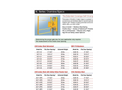 FabEnCo - Model XL Series - Extended Coverage Self-Closing Safety Gate - Datasheet Brochure