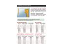 FabEnCo - Model A Series - Original Self-Closing Safety Gate - Datasheet Brochure
