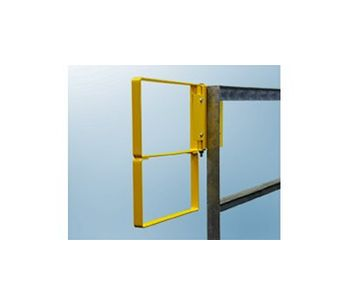 FabEnCo - Model RX Series - Standard Bolt-On Extended Coverage Safety Gate