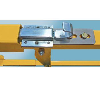 Dual Vertical Lift Loading Dock Gates-1