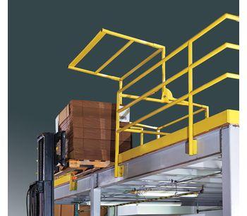FabEnCo - Model MZ Series - Pivoting Mezzanine Gates
