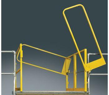 FabEnCo - Model MZ Series - Clear Height Mezzanine Safety Gates