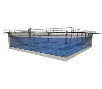 EnviroMix AquaBlend - Model FT - No - Shear Flocculation Tank Mixing System