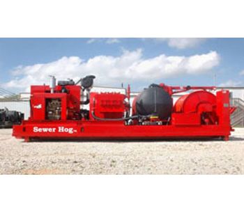 Sewer Hog - Model 2000- PSI 350-GPM - Powerful Jetting System