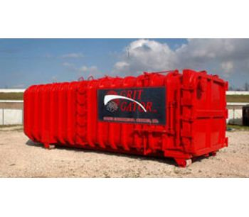 Grit Gator - High-Speed Decanting, Separation and Dewatering Container