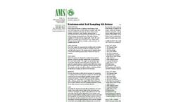 AMS - Environmental Soil Sampling Kit Deluxe - Datasheet
