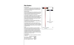 Tileprobes Technical - Data Sheet