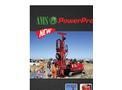 AMS PowerProbe - Model 9580-VTR - Auger and Hammer System - Datasheet