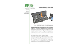 AMS - Bulk Density Soil Sampling Kit - Brochure