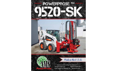AMS PowerProbe - Model 9520-SK - Skid Loader - Specifications