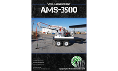 AMS - Model 3500 Series -  Well Management Systems - Specifications