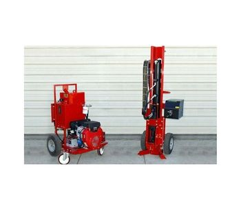 AMS - Model 9110-LAP and 9110-Power - Portable Direct Push Drill Rig