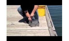 AMS Ekman Dredge with Messeenger - Video