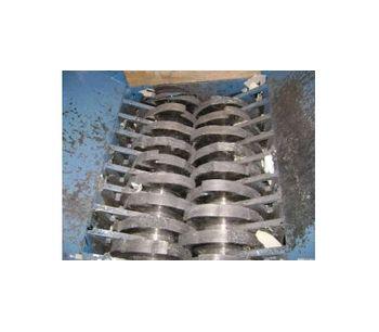 Hydraulic Twin Shaft Shredder
