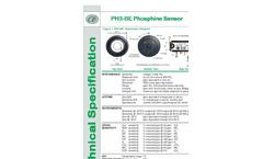 Alphasense - Model PH3-BE - Electrochemical Toxic Gas Sensors Brochure