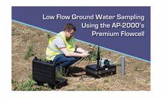 Low flow sampling, methodology for groundwater sampling