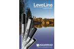 LeveLine - Self Contained Water Level and Temperature Logger with Replaceable Battery - Brochure