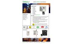 Detector - Model DGTk2 - Digital Gas Detector - Brochure