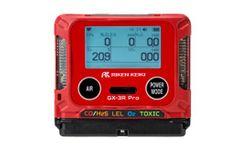 Riken Keiki - Model GX-3R Pro - Portable Gas Detectors