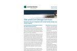 Site and Civil Design Services- Brochure