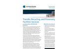 Transfer, Recycling, and Processing Facilities Services- Brochure