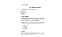 Terratech - Model T-PRO 200 - Latex Copolymer - Technical Datasheet