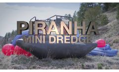 PIRANHA - Mini Dredge - Video