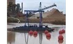 Piranha Industrial Dredge Model P 30 - Video