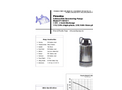 Piranha - Model P-100-SS - Industrial Duty Dewatering Pump - Technical Datasheet
