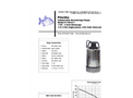 Piranha - Model P-100-SS - Industrial Duty Dewatering Pump - Technical Datasheet